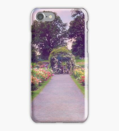 Allee of Roses iPhone Case/Skin