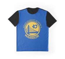 Kevin Durant is now a warrior logo!! Shirt/case Graphic T-Shirt