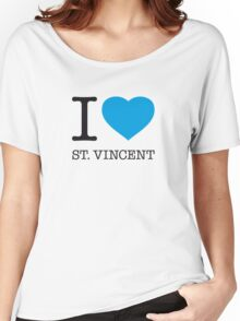 I ♥ ST. VINCENT Women's Relaxed Fit T-Shirt