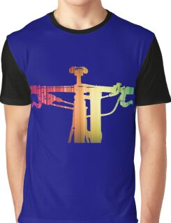 Mountain Bike Rainbow Bars - MTB Collection #004 Graphic T-Shirt