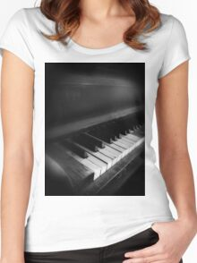Ivories Women's Fitted Scoop T-Shirt