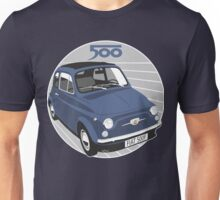 Fiat 500F dark blue Unisex T-Shirt