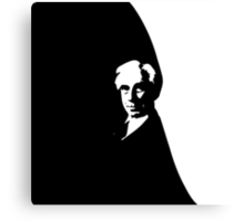 Bertrand Russell (Cut Out) Canvas Print
