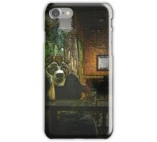 Furry in Coffee Shop iPhone Case/Skin