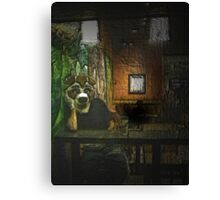 Furry in Coffee Shop Canvas Print
