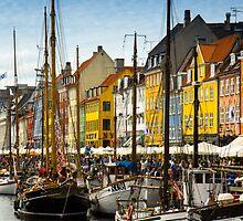 Copenhagen - Nyhavn by Anastasia Filippova