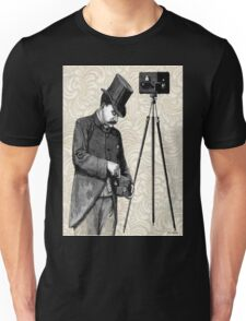 Victorian Steampunk Photographer Camera Unisex T-Shirt