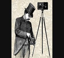 Victorian Steampunk Photographer Camera Classic T-Shirt