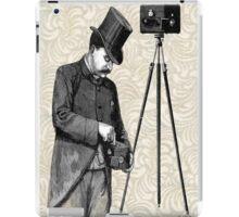 Victorian Steampunk Photographer Camera iPad Case/Skin