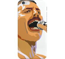Pop art Freddie Mercury iPhone Case/Skin