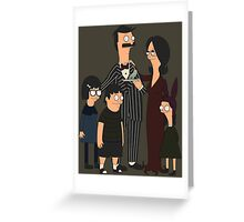 Addams' Family Burgers Greeting Card