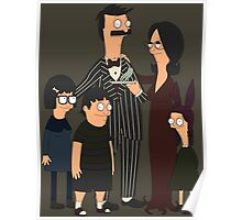 Addams' Family Burgers Poster