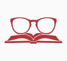 Book Nerd 3 (Red) One Piece - Long Sleeve