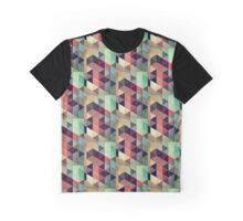 Diamond Pattern Graphic T-Shirt
