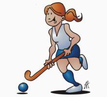 Field hockey girl One Piece - Short Sleeve
