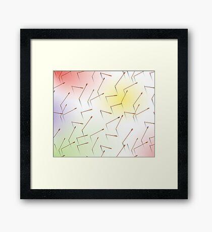 Arrows: 3 Framed Print