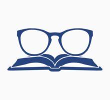 Book Nerd 3 (Blue) One Piece - Long Sleeve
