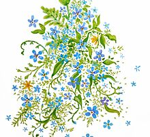 Forget Me Nots by Elaine Bawden