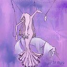 Lady Amalthea of The Last Unicorn by SuspendedDreams