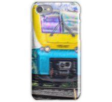 manchester train iPhone Case/Skin