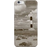 Black and White Lighthouse iPhone Case/Skin