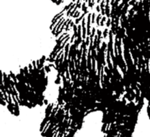 Buffalo - Black Sticker