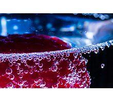 Prosecco Bubbles Photographic Print