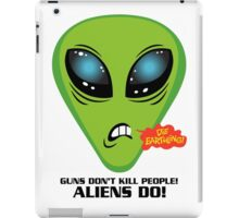 Illegal Aliens And Guns iPad Case/Skin
