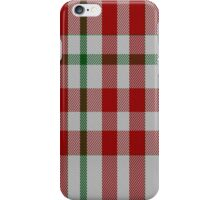 01709 Border Sett Artefact Tartan iPhone Case/Skin