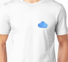Set of watercolor clouds for design Unisex T-Shirt
