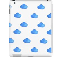 Set of watercolor clouds for design iPad Case/Skin