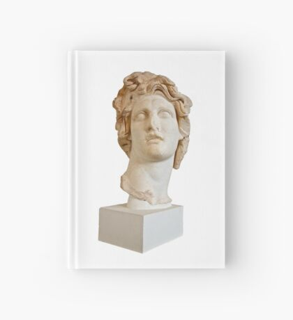 Marble Bust Hardcover Journal