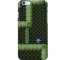 Mega Man vs Snake Man iPhone Case/Skin