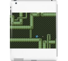Mega Man vs Snake Man iPad Case/Skin
