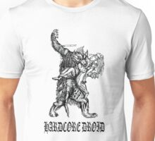 Hardcore Droid Werewolf for Light colored shirts Unisex T-Shirt