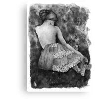 Monochrome beauty Canvas Print