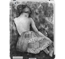 Monochrome beauty iPad Case/Skin