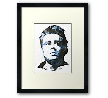 James Dean | Watercolour Painting Framed Print
