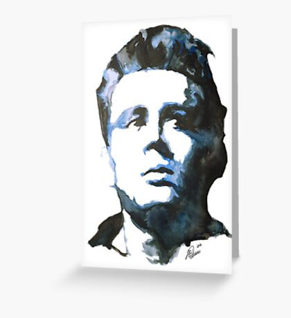 James Dean | Watercolour Painting Greeting Card