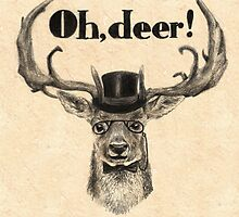 Oh, deer me! by AnnaShell