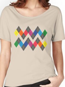 Unofficial Gay Argyle Pattern Women's Relaxed Fit T-Shirt