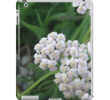 Yarrow Flower iPad Case/Skin