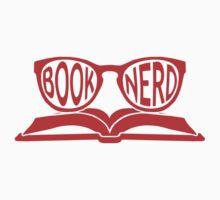 Book Nerd 2 (Red) Baby Tee