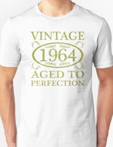Vintage 1964 Birth Year Unisex T-Shirt