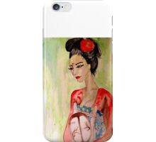 Asian Grace  iPhone Case/Skin