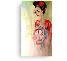 Asian Grace  Canvas Print