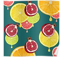 fresh fruit  Poster