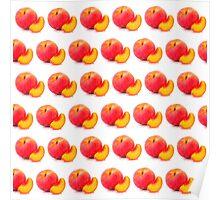 Summer Peaches Poster