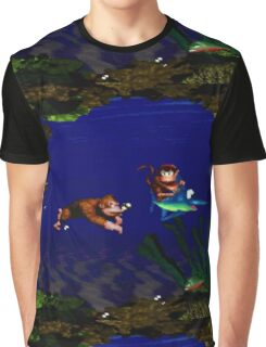 Aquatic Ambience Graphic T-Shirt