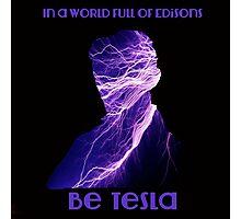 Nikola Tesla one Photographic Print